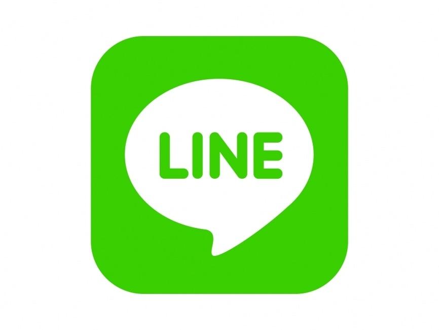 Vector Drawing Lines App : Line messenger vector logo logowik