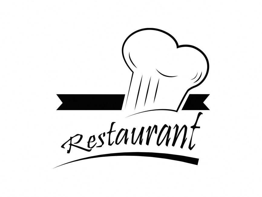 Restaurant vector logo element logowik