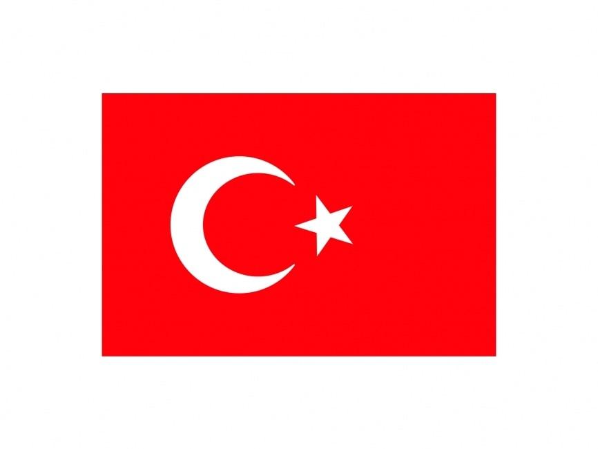 turkish flag vector file