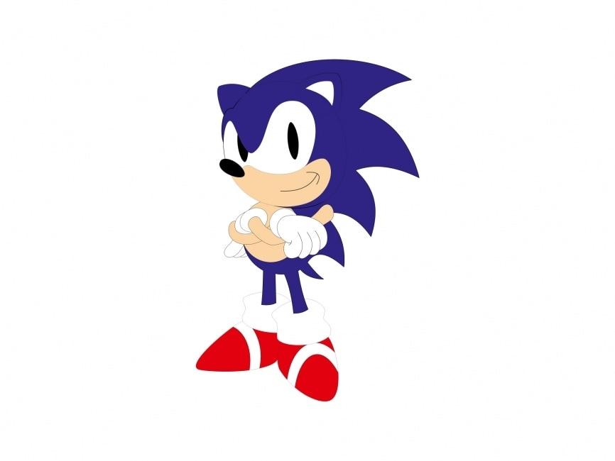 Sonic Vector File Logowik Com