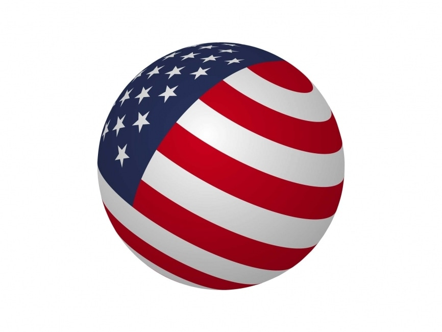 USA Sphere Flag