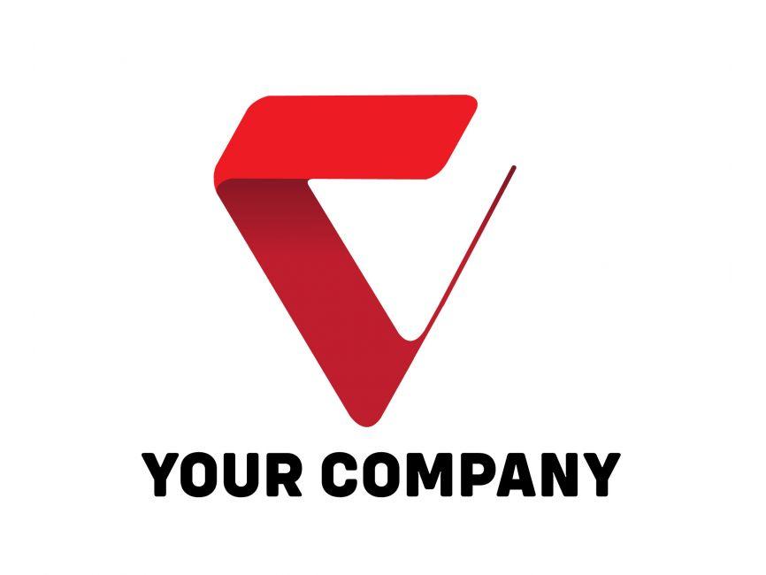 Letter V Logo Template