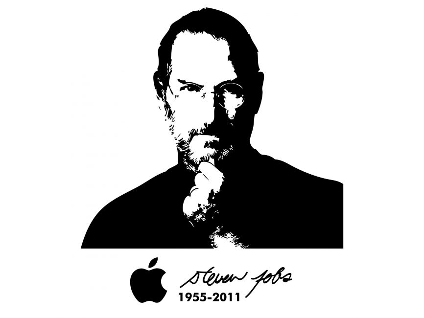 Steve Jobs Silhouette