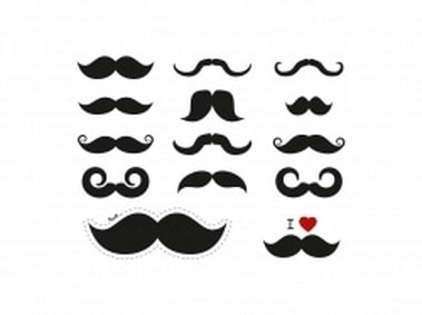 Vintage Mustache Collection