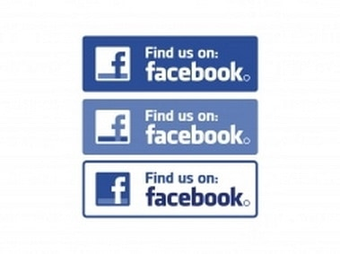 Facebook Find us on