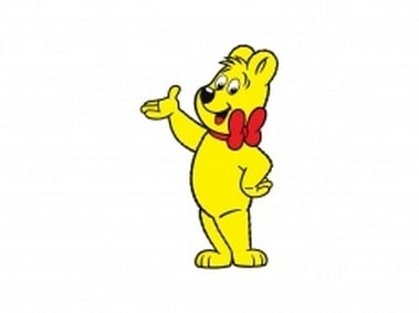 Haribo Bear Cartoon Character
