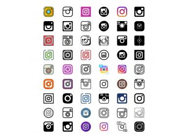 All Instagram icons