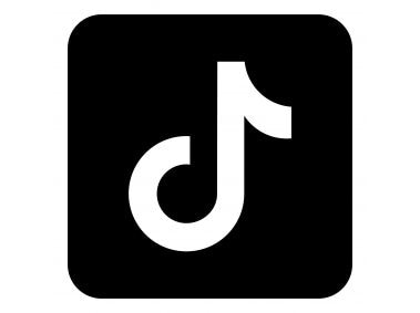 TikTok Black Share Icon