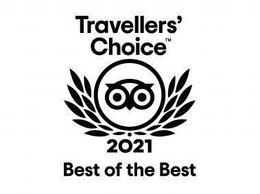 TripAdvisor 2021 Travellers Choice Best of the Best