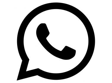 WhatsApp Glyph Black